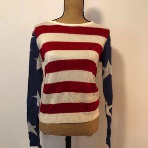 Tobi Flag Sweater